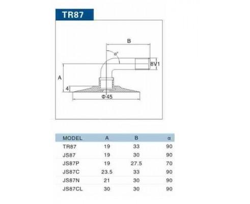 Камера 11х6,00-5 TR-87 Kabat