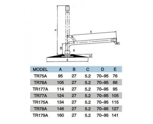 Камера 32х12,1-15 TR-177A Kabat